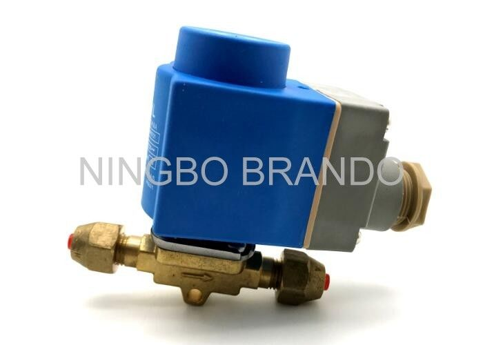 EVR 3 220/230V AC Refrigeration Solenoid Valve with Brass Body , Liquid Line Solenoid Valve