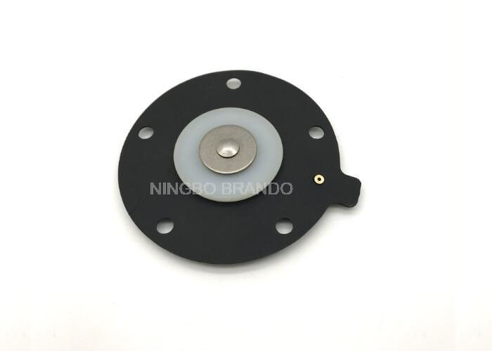 Round Black Nitril Fabric Reinforced Diaphragms For 1 Inch Pulse Valve