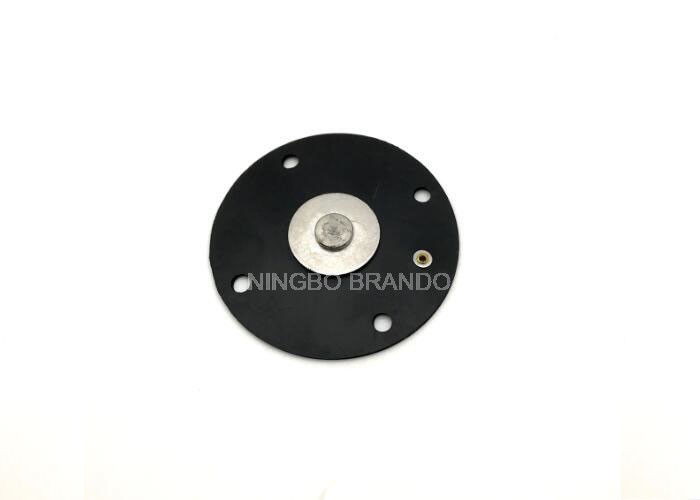 Pilot Solenoid Valve Diaphragm Black Color For Dmf Scg Types Pulse Valve