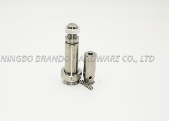Vertical Cut Surface Guide Core/NBR Seal  Solenoid Stem With Low Remanence