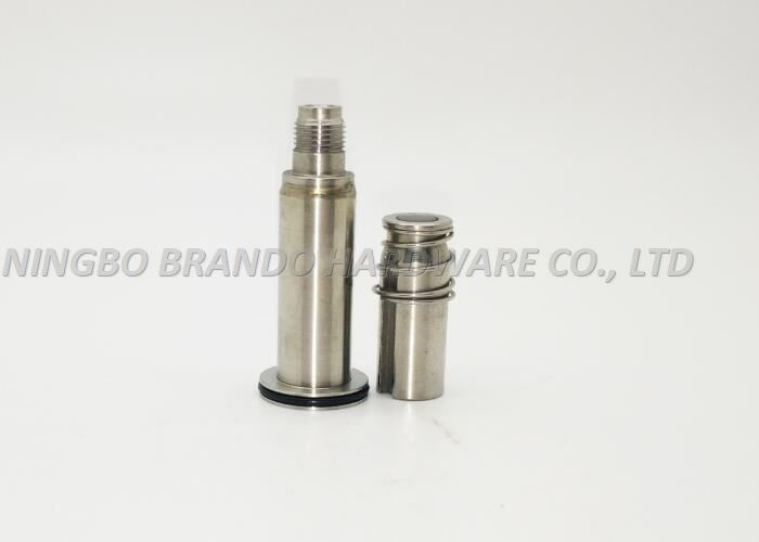 Hollow Male Thread Connection Solenoid Stem/Secondary NBR Seal Guide Core