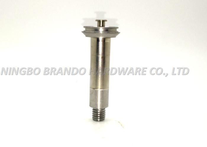 Magnetic No Spring Design Non-cylindrical Movable Core/ISO CE Silvery White Solenoid Stem