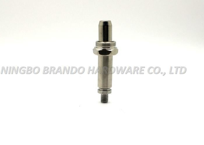 14.3mm Tube Out Diameter Solid Solenoid Stem/NBR Circular Truncated Cone Bottom Seat