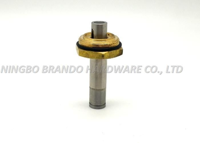 Large Brass Pentagon Seat Plunger Tube 22.1mm Height With Internal Spring