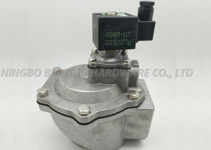 "Right Angle Type Pneumatic Pulse Valve , 1.5"" Dust Collector Valves SCG353A047"