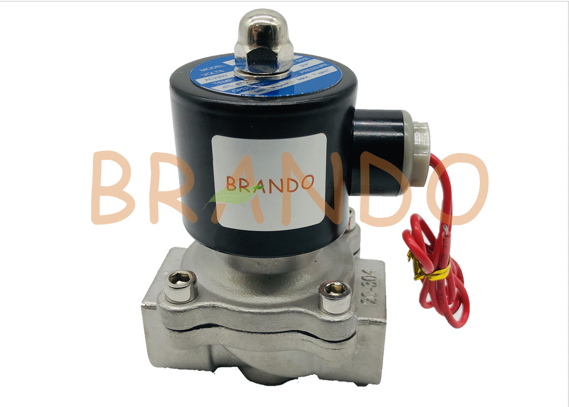 "Normal Closed Pneumatic Solenoid Valve 3/4"" Inches For Water Industry 2S-200-20"