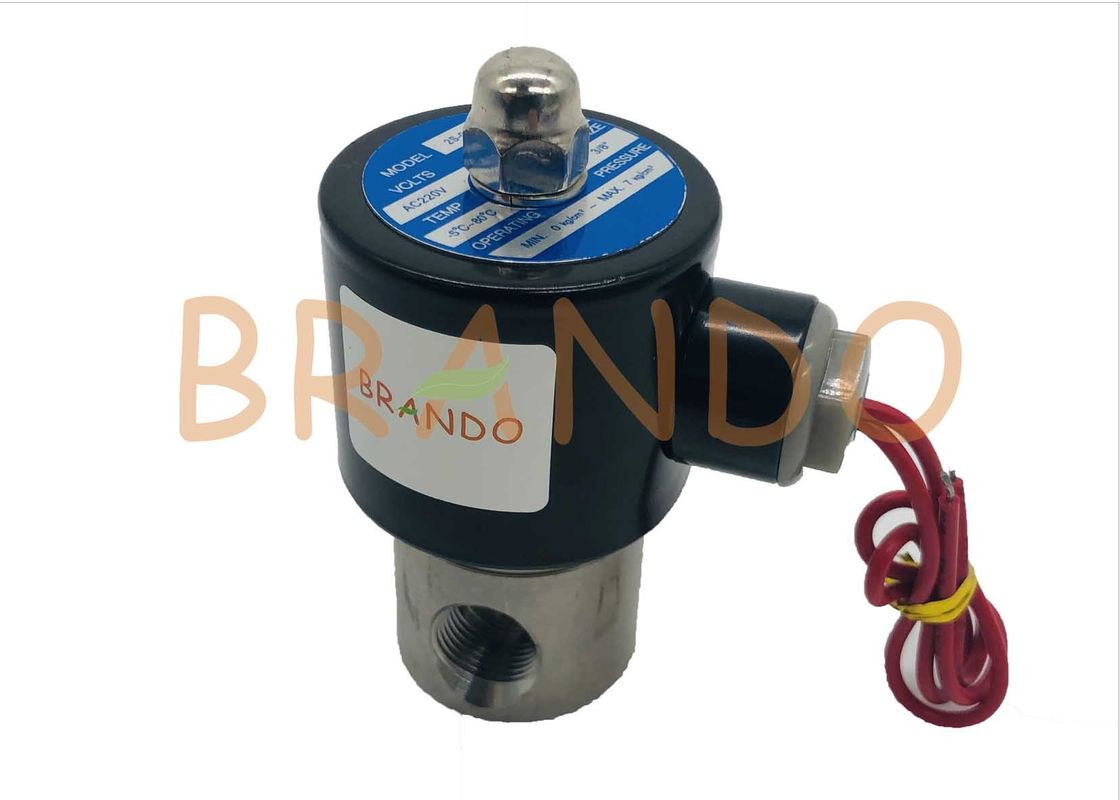 2S Series Stainless Steel Solenoid Valve For Water Industy 3/8 Inch 2S-040-10