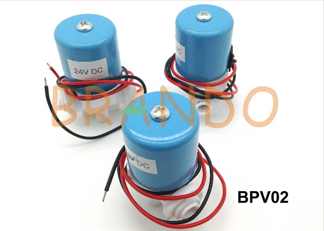 "2.5MM Orifice Pneumatic 24VDC Solenoid Valve With 1 / 4"" Normal Thread Connecting Port"