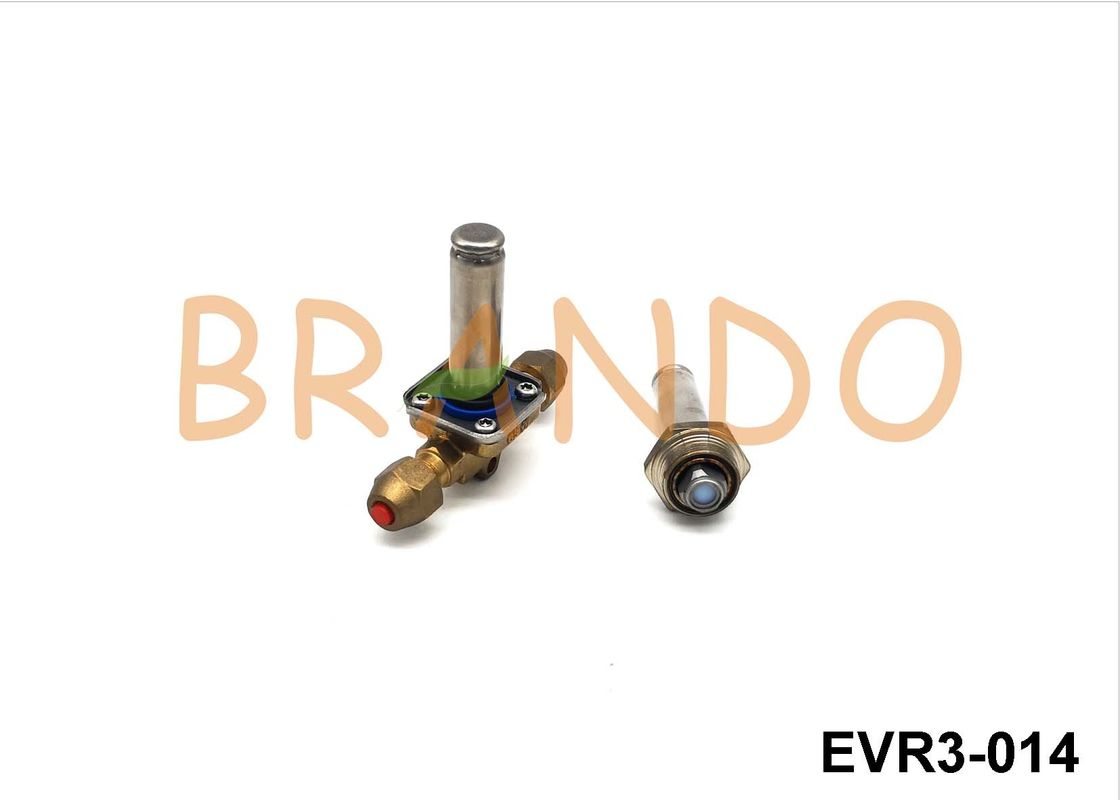 EVR3-014 Air Conditioner Solenoid , 1/4 Inch Small Normally Closed Solenoid Valve