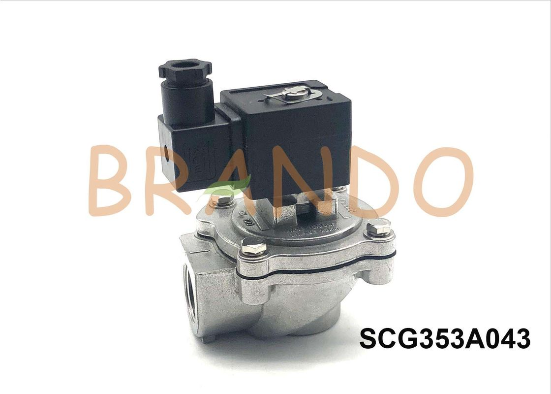"Dedusting Stainless Steel Diaphragm Control Valve 3/4"" 24V DC SCG353A043"