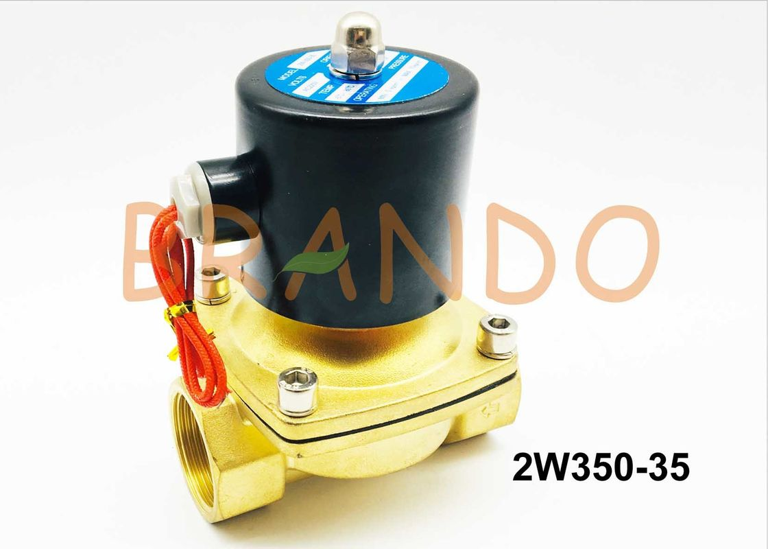 1 1/4 Thread Port 35 Flow Rate Solenoid Control Valve 2W350-35 Direct Drive Series