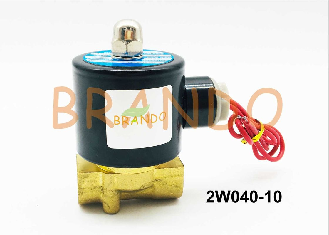 "3/8"" Brass Pulse Solenoid Valve , 2/2 Way Solenoid Water Valve 2W040-10"