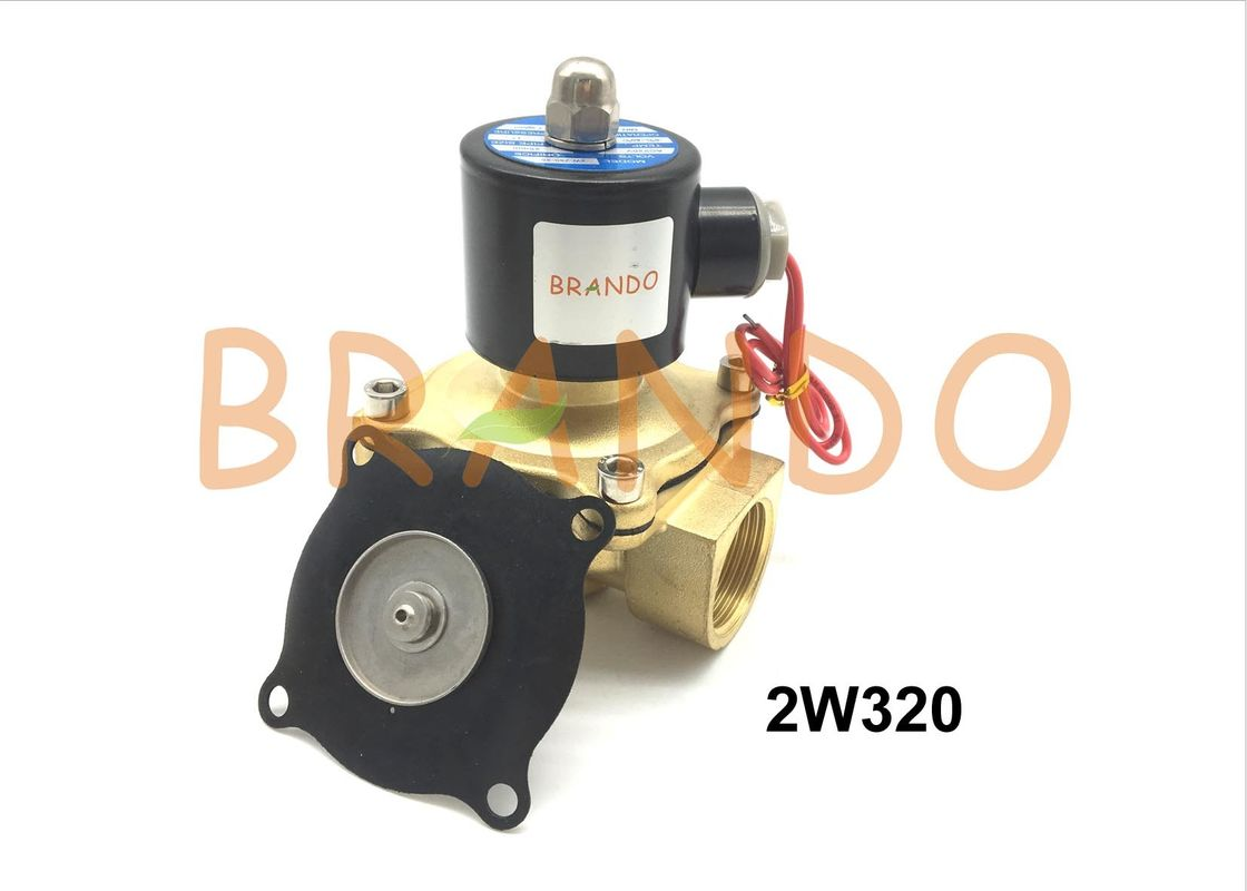Custom Black Valve Replacement Diaphragm 2W320 For Electromagnetic Water Valve
