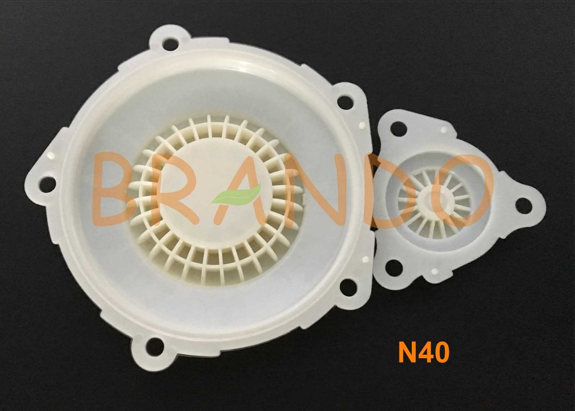 Air Working Medium Norgren Type Diaphragm N40 For Pulse Blowings Valve In Industrial Dust Collector