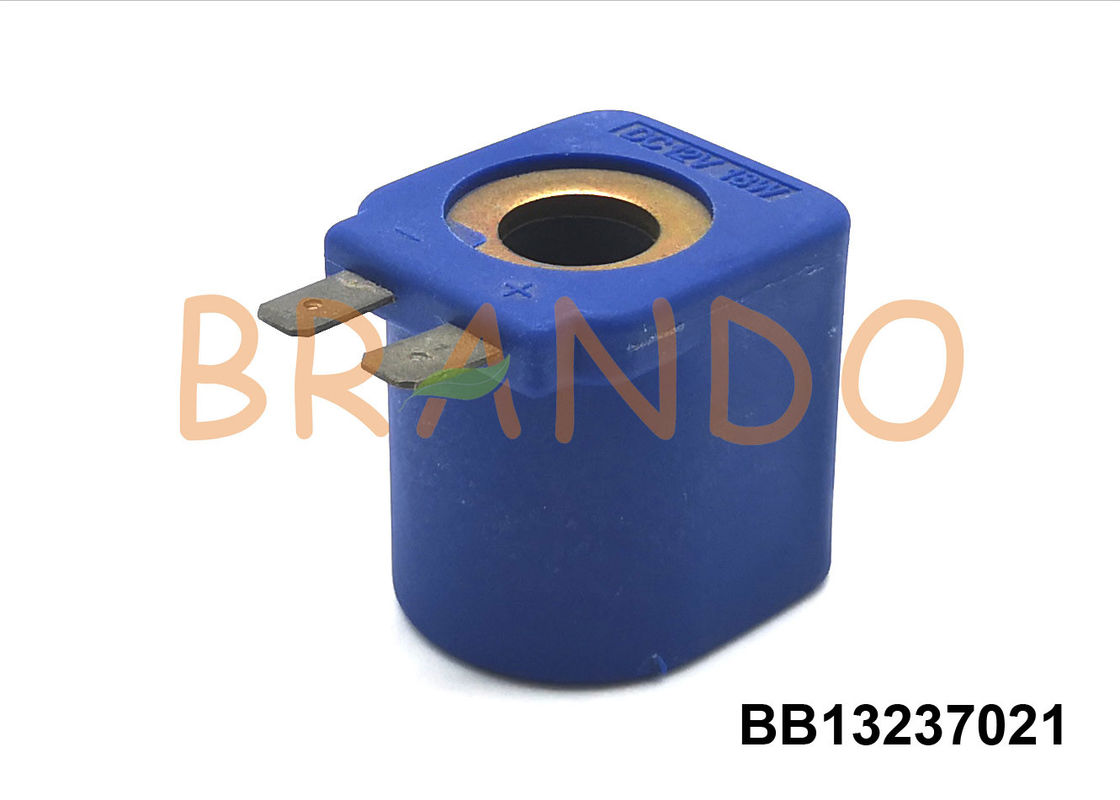 13mm Diameter Faston Lpg / Cng Solenoid Coil For Lovato Type RGE090 / 140 Reducer DC12V / DC24V