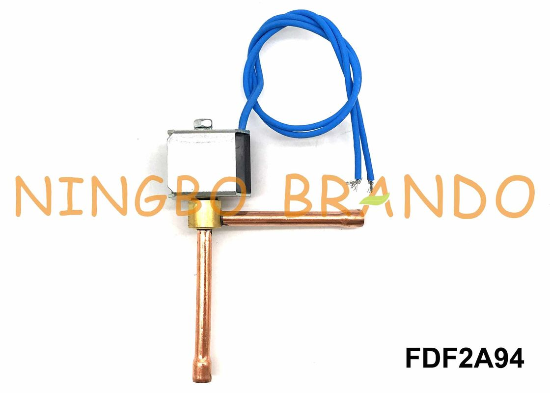 FDF2A94 Refrigeration Solenoid Valve SANHUA Type Normally Closed 2 Way Right Angle AC220V