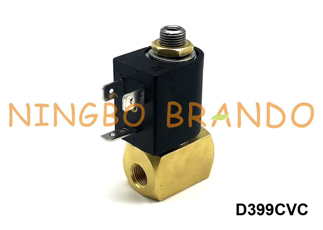 "1/4"" Inch M&M Type D399CVC Solenoid Valve Brass 3/2 NC DC24V For Auto Feeding System"