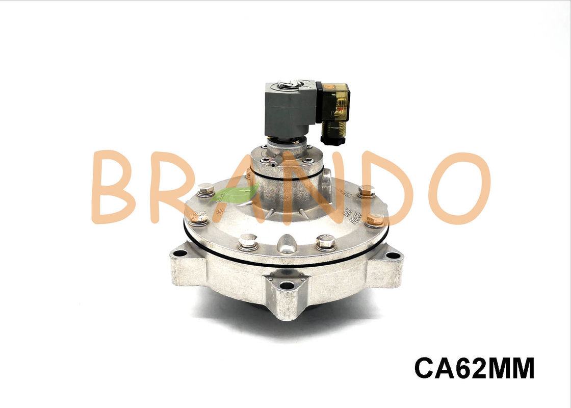 CA62MM 2 1/2'' Full Immersion Manifold Flat Mount Pulse Jet Valve In Square Tank AC220V AC110V
