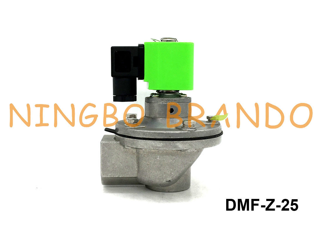 1'' DMF-Z-25 SBFEC Replacement Integral Solenoid Pulse Valve Right Angle Type DC24V AC220V