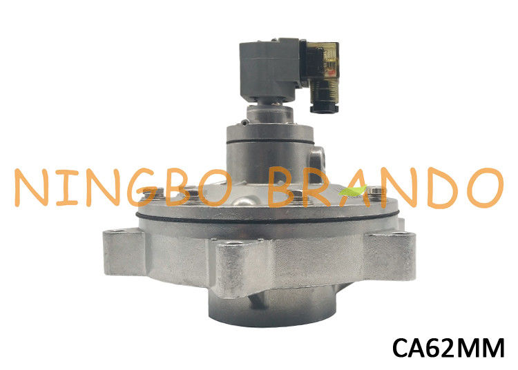 "2-1/2"" CA62MM Dust Collector MM Series Manifold Mount Pulse Valve For Reverse Jet Baghouse Dust Extraction System"