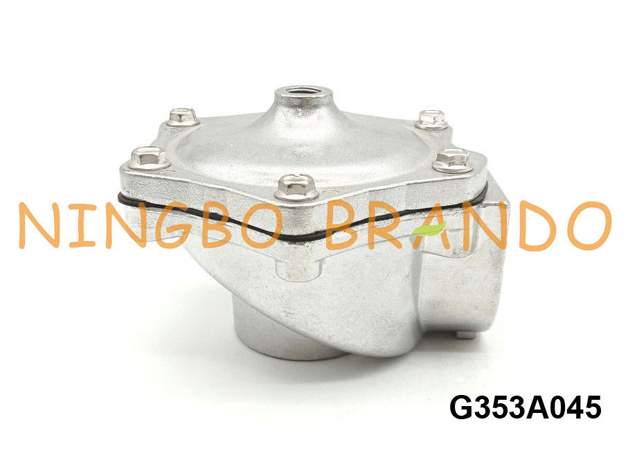 "ASCO Type G353A045 1 1/2"" Pipe 1/4"" Remote Pilot Diaphragm Valve For Pulse Jet Dust Collector"