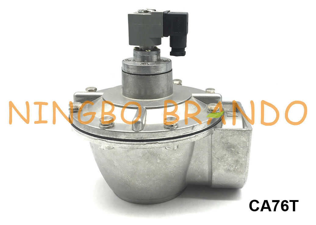 "3"" CA76T Goyen Type Pulse Jet Diaphragm Valve For Dust Collector 24V DC 220V AC"