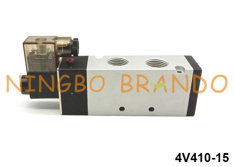 1//4-Inch AirTAC 3V210-08 Solenoid Valve DC 3-Way 2-Position 24V