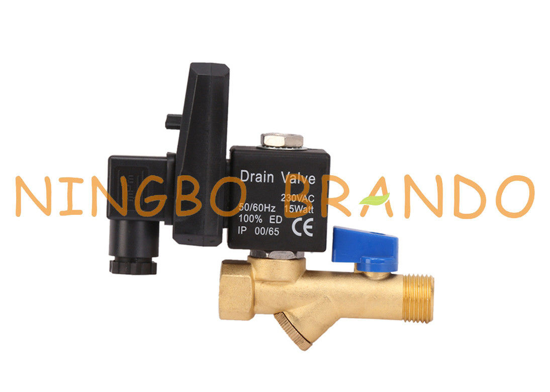 1/4'' 1/2'' Air Compressor Automatic Drain Valve Jorc Type 120V 230V
