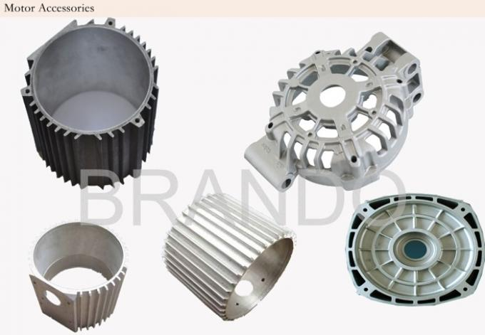 Chromed Plated Aluminum Die Casting Hardware Components For Pneumatic Industry 1