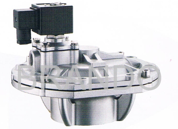 Mounted Stainless Steel Orifice Rubber Diaphragm , Valve Replacement Diaphragm