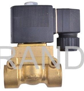 24 Volt DC Mini Magnetic Solenoid Water Valve Stainless Steel / Brass Material 2W025-08