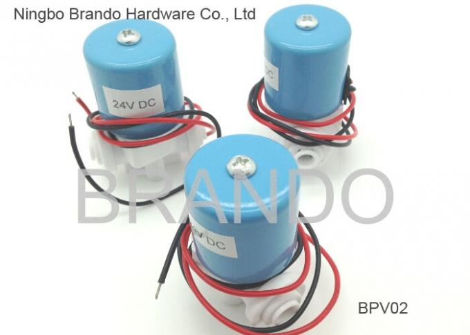 2 Way Plastic PP POM White Water Solenoid Valve for Reverse Osmosis Parts