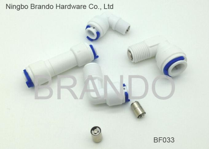 "Reverse Osmosis Parts Plastic Pipe Fitting 3/8"" Male Tee Adapter for Water Purifier System"