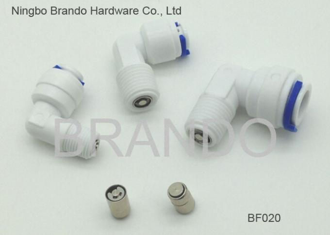 90° NPT Threaded RO 1/4 To 1/4 Ball Valve RO / UV / Water Filter Purifier