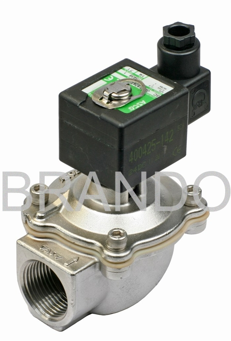 Dust Collector Solenoid Stem Diaphragm Pulse Stainless