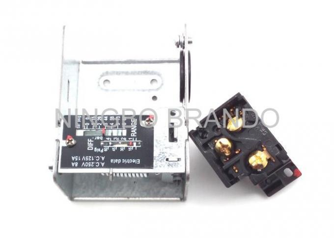 White Compressor Portection Air Compressor Pressure Control Switch Auto  Reset