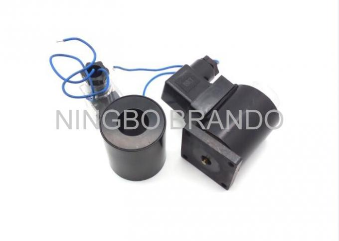 Enamelled Insulate Wire Plastic Solenoid Coil for Pneumatic Solenoid Valve
