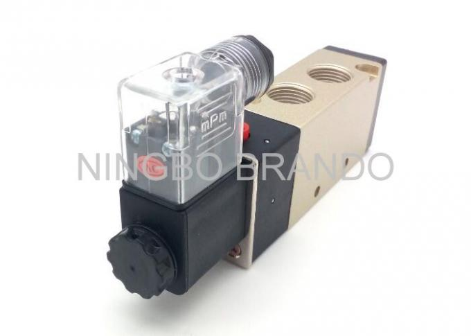 "Inner Guide Type Pneumatic Cylinder Valve With G1/4"" Port Size Exhaust"