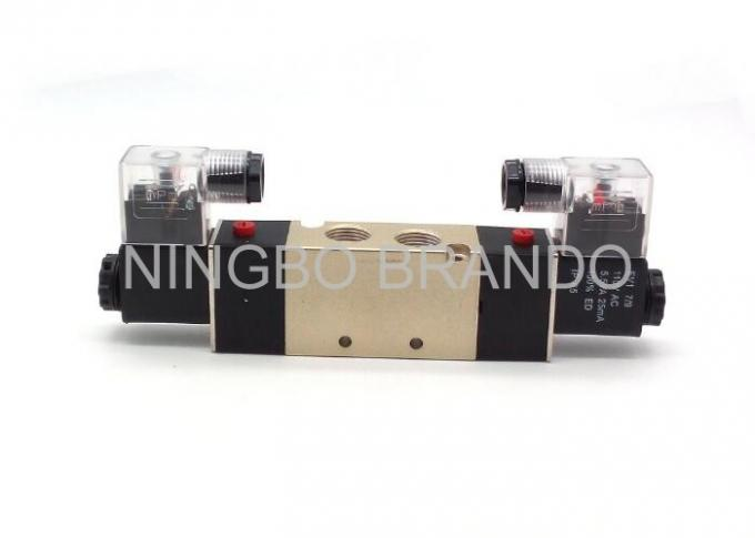 "3/8"" Port Size Pneumatic Cylinder Valve Double head Double position Close Type"