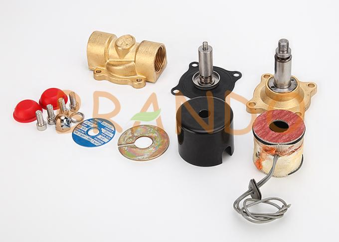 1-1/4'' 2W350-35 Two Ways Brass Water Solenoid Valve Reverse Osmosis Equipment Component