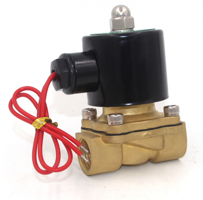 1/2'' Direct Drive Pneumatic Solenoid Valve 2W160-15 For Water Treatment
