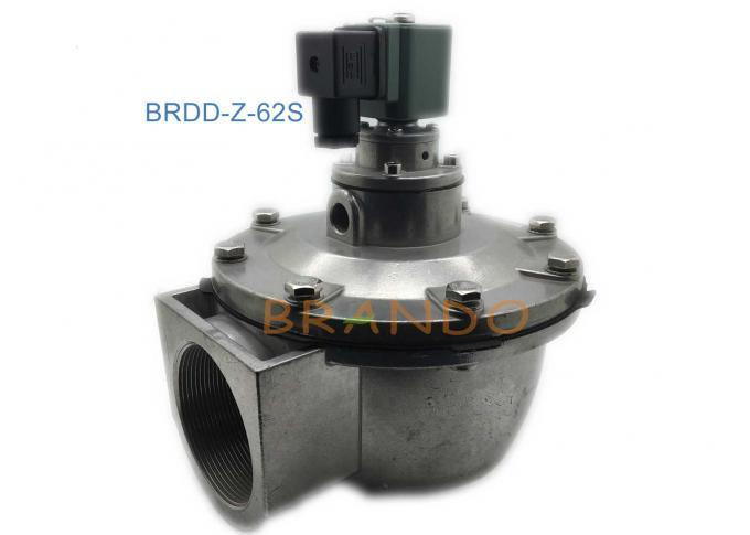 Two Position 2 Way Solenoid Pulse Valve NBR Diaphragm SBFEC 2 1/2 Inch Size