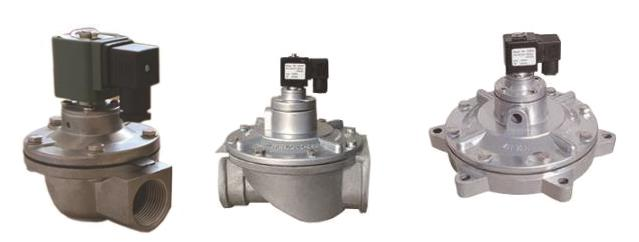 1-1/2'' Flange Connection Pneumatic Pulse Valve CAC40FS Pilot Operated For Dust Collector Bag Filter