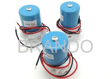 "China 2.5MM Orifice Pneumatic 24VDC Solenoid Valve With 1 / 4"" Normal Thread Connecting Port distributor"