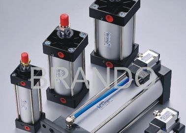 China Pneumatic Cylinder Valve , Pneumatic Air Cylinder Assembled ISO6431 ISO15552 Standard distributor