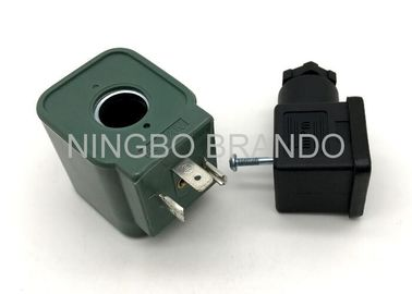 China 24v DC DMF Solenoid Coil Used for BFEC Dust Bag Collector Pulse Valve with DIN43650A Connector distributor