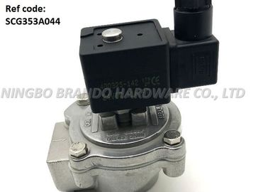 China 1 Inch Threaded Body Pneumatic Pulse Valve SCG353A044 With White TPE Diaphragm distributor