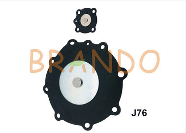China 3 Inch Joil Type Solenoid Valve Diaphragm Pulse Valve Repair Kit Black Nitrile Rubber Diaphragm Model J76 factory