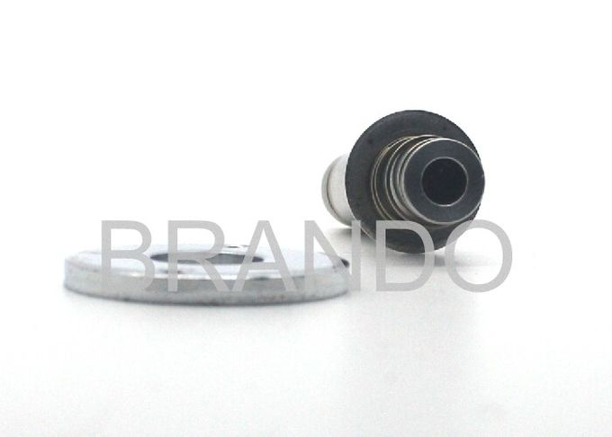 Thread Connection Silvery Solenoid Stem High Precision With External Spring